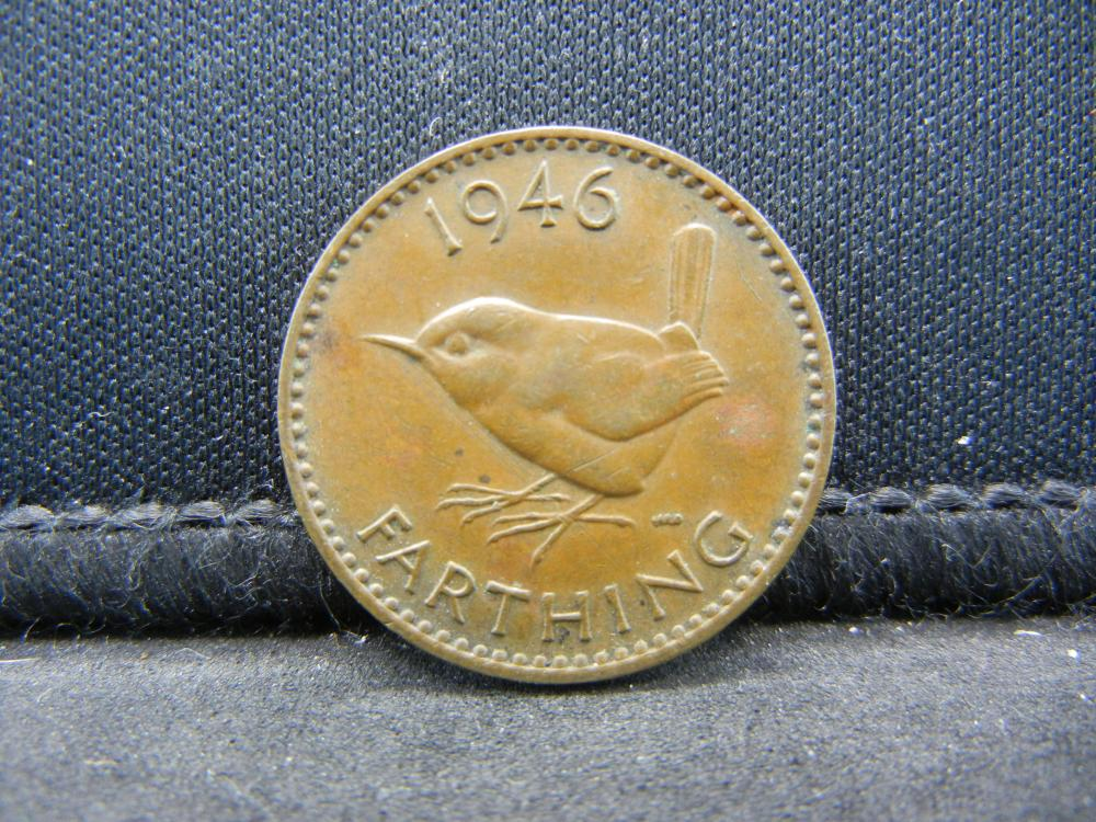 1946 Great Britain 1 Farthing.
