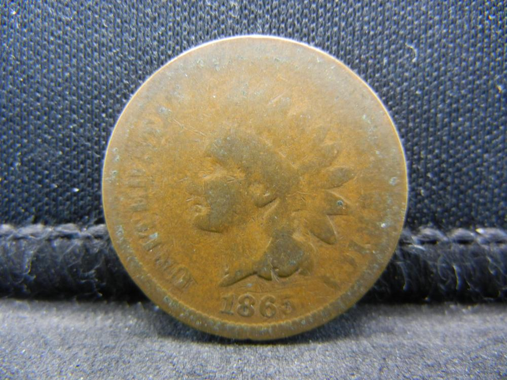1865 Indian Head Cent.