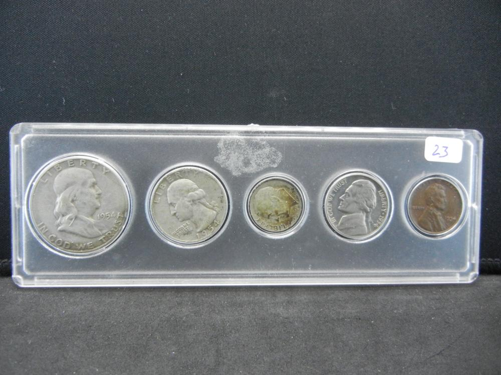1954 Year Set.   Circulated.