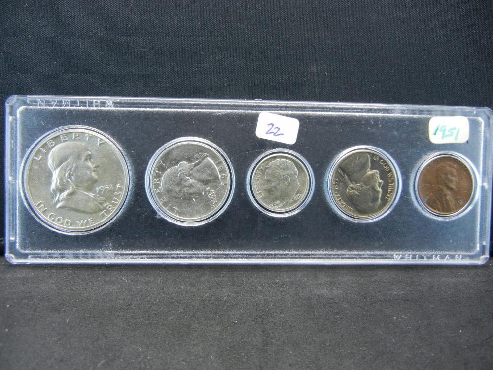 1951 Year Set.   Most Uncirculated.