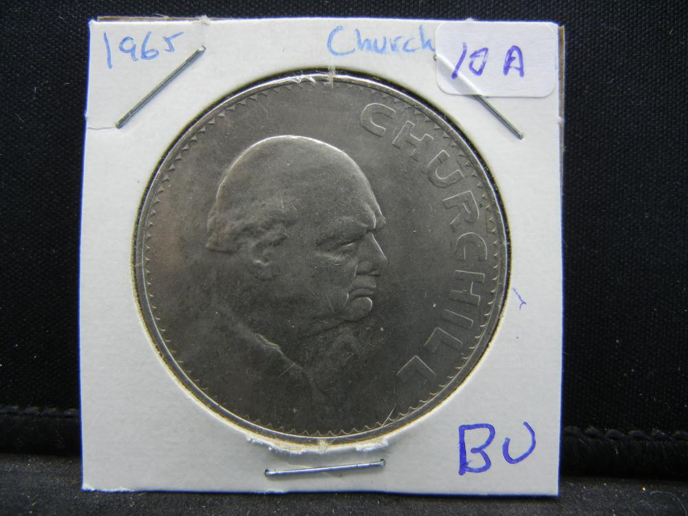 1965 Great Britain Churchill Crown.   BU.