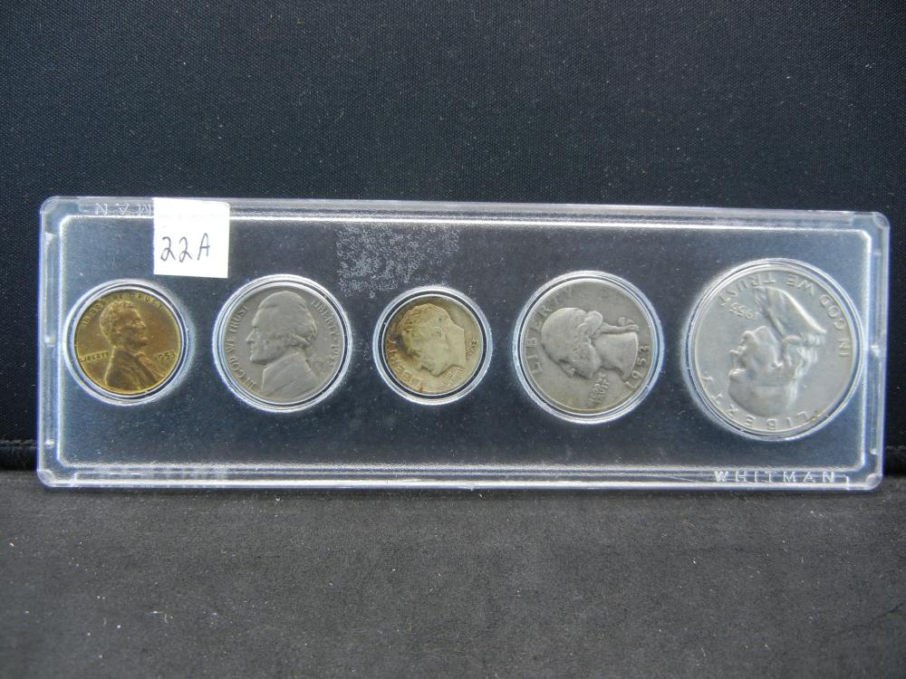 1953 Year Set.   Circulated