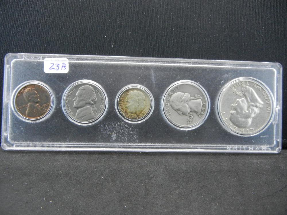 1958 Year Set.   Circulated.