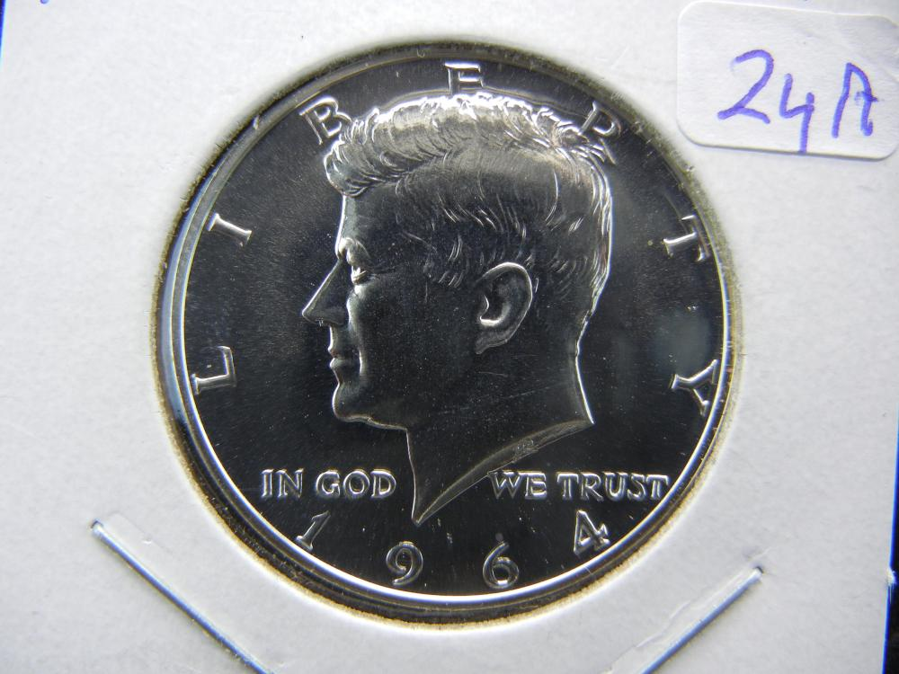1964 Kennedy Half.   GEM Proof.