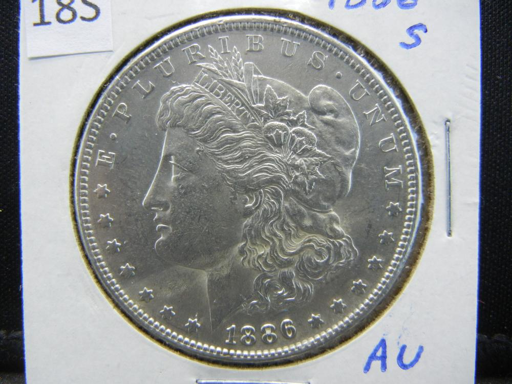 1886-S Morgan Silver Dollar
