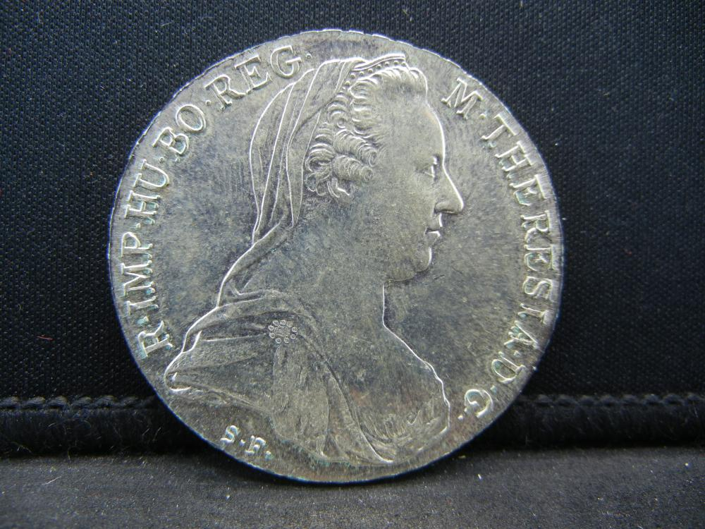 1780 Burg Co Tyr M. Theresa Coin