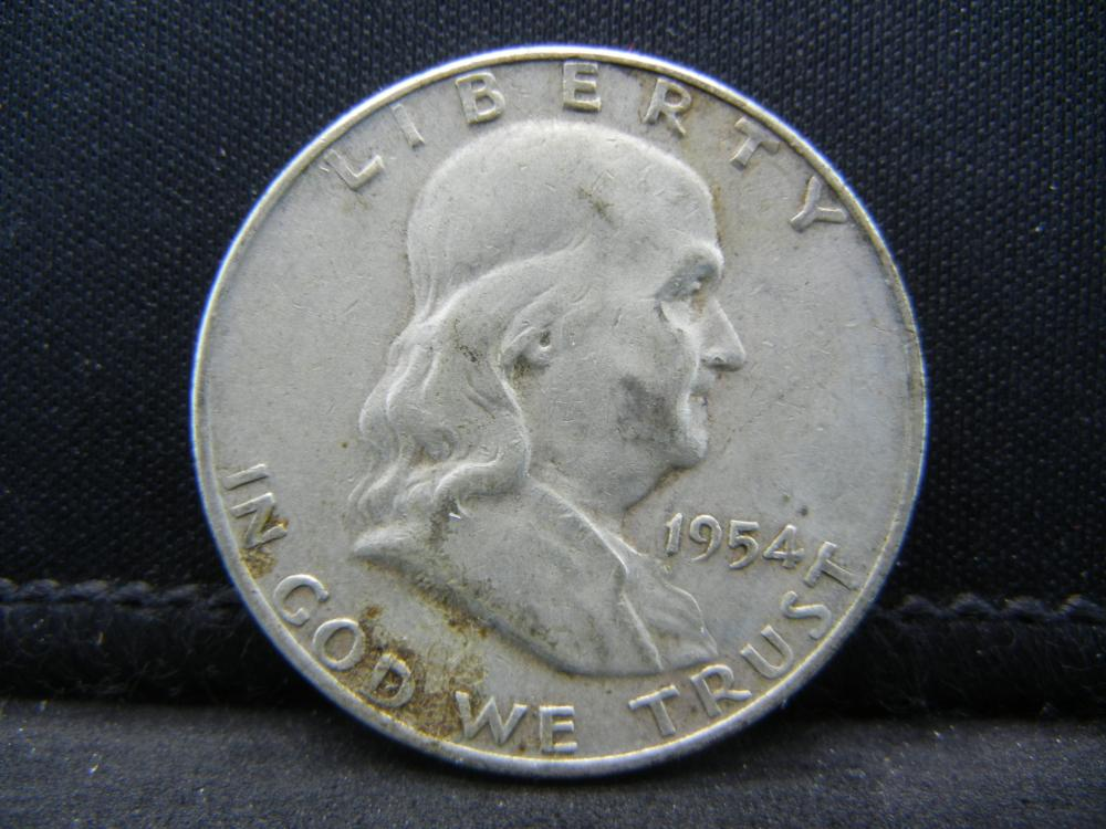 1954-D Franklin half Dollar