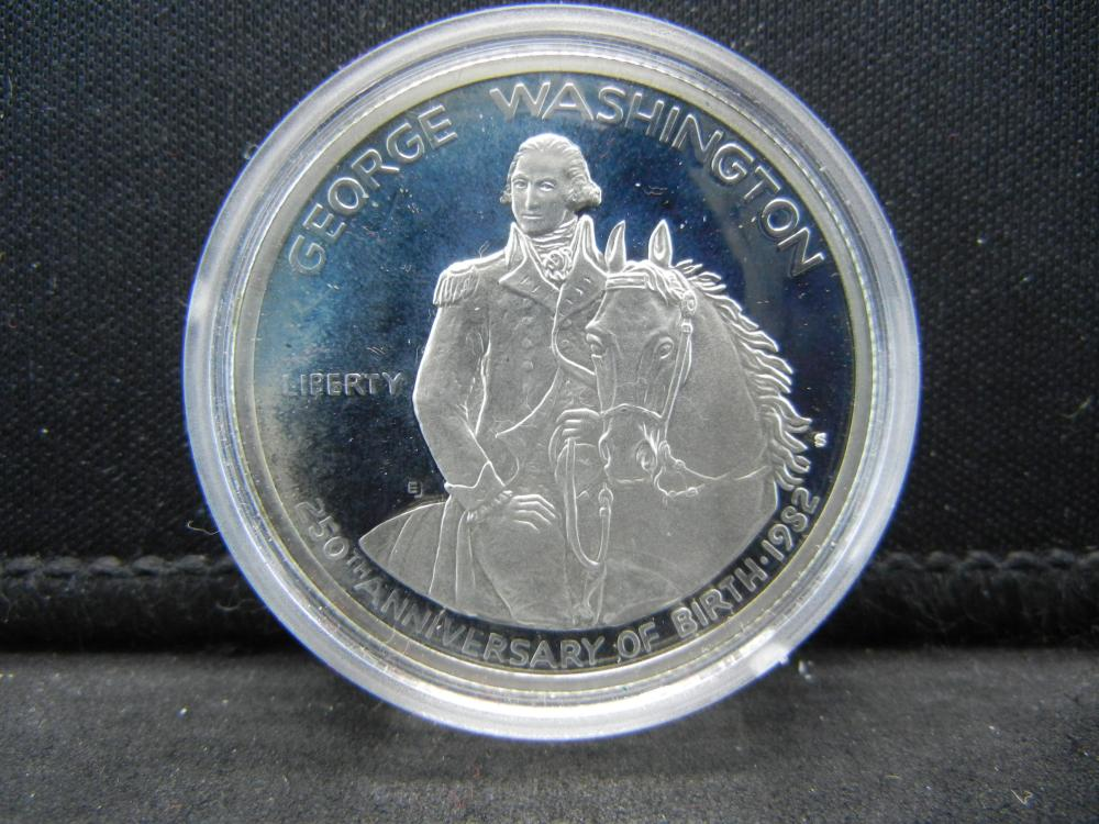 1982 90% Silver Washington Commemorative Proof
