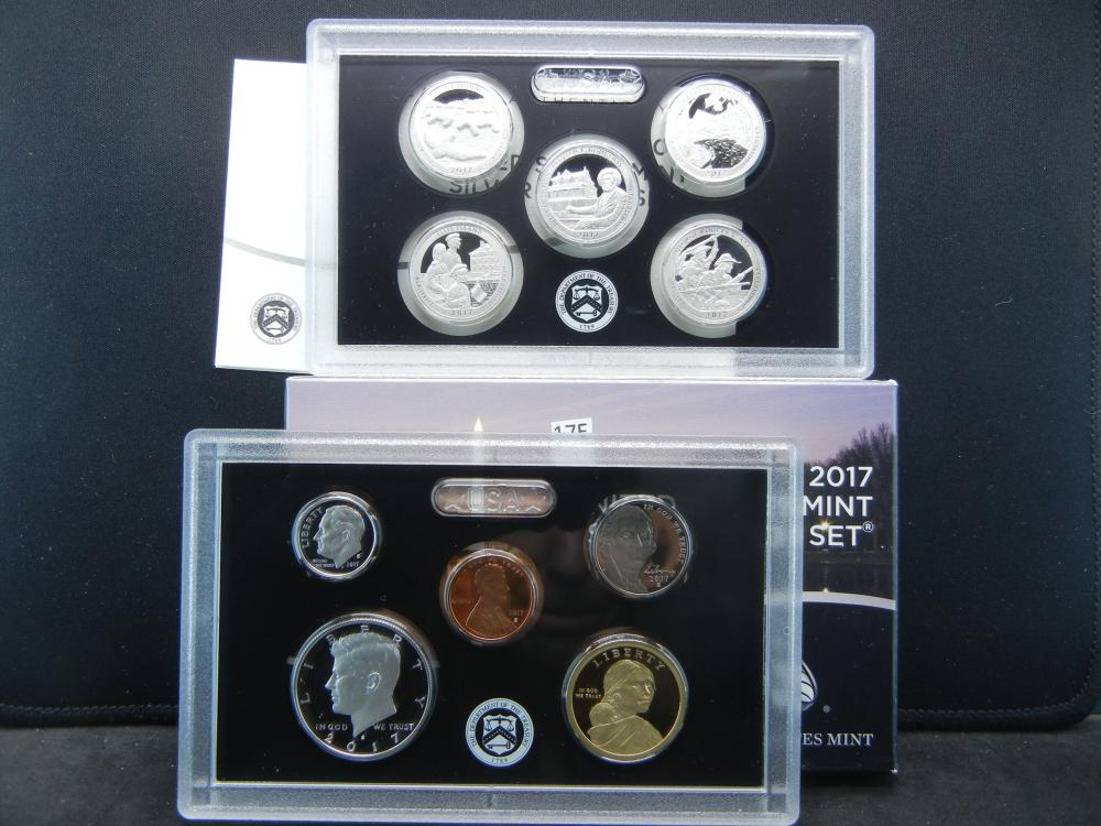 2017 US Mint Silver Proof Set 17RH