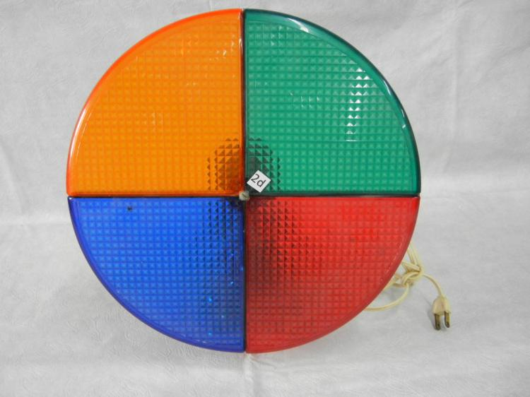 Color Wheel For Christmas Tree.Vintage Color Wheel For Alum Christmas Tree