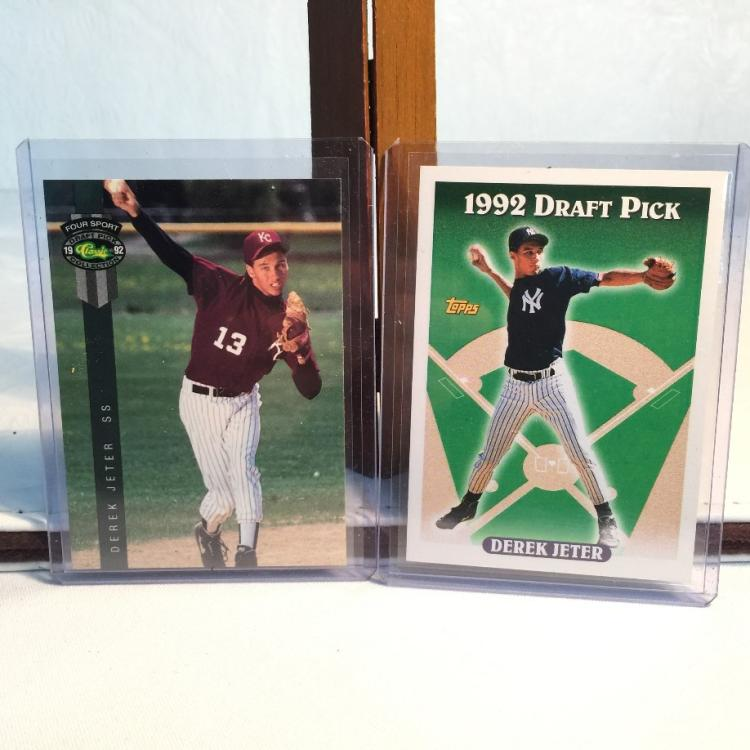 1992 classic 1993 topps derek jeter minor league and rooki for Classic house 1992
