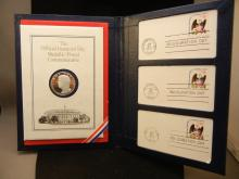 Official Inaugural Day Metallic Arts Postal Medal