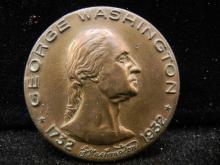 1932 George Washington medal 200th anniversary of his birth