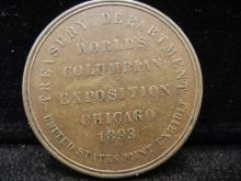 Worlds Fair Columbia Exposition Chicago 1893 So called dollar