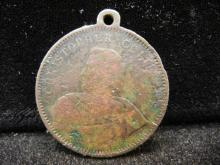 Chicago 1893 Exposition Worlds Fair medal