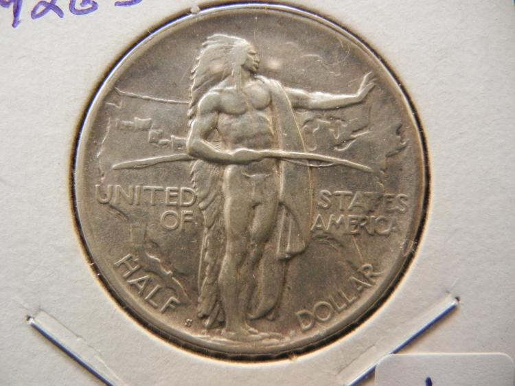 1926-S Oregon Trail Commemorative Half Dollar. Nice.