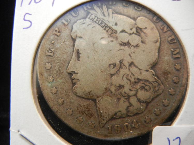 1904-S Morgan Dollar.  Good.  A semi-Key.