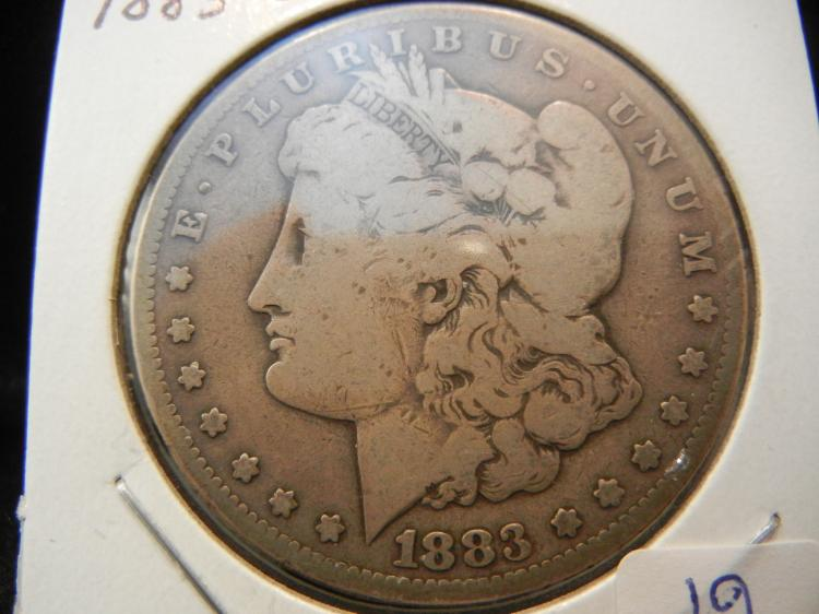 1883-CC Morgan Dollar.  Original.