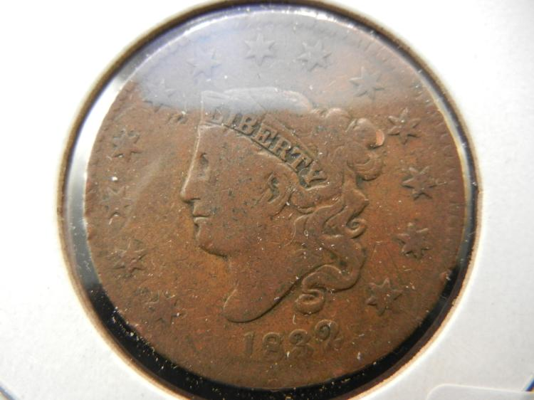 1832 Large Cent. Full Liberty. Original.