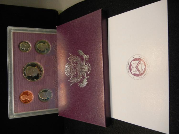 1989-S US Proof Set.  In government package.