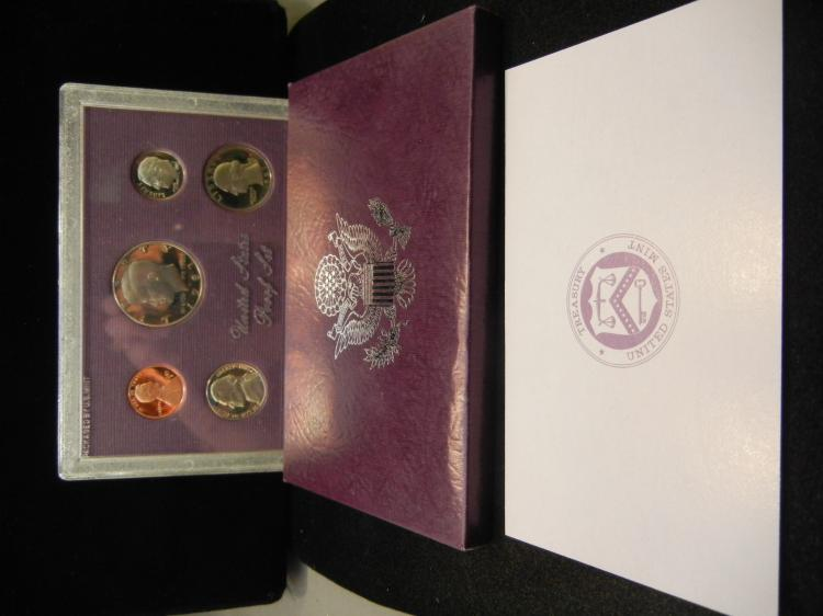 1987-S US Proof Set. In government package.