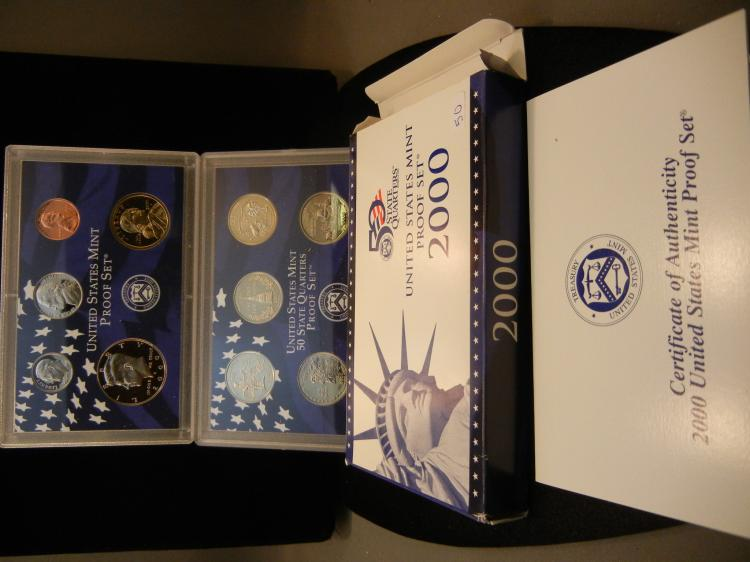 2000-S Proof Set. In government package.