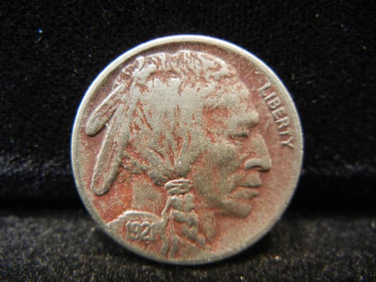 1921 Buffalo Nickel