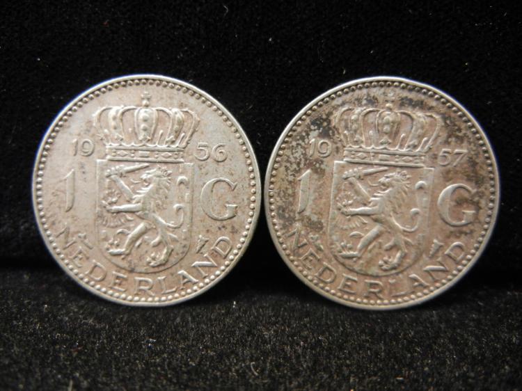 1956 & 1957 Nederland 1 G