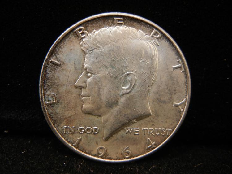 1964 Kennedy Half Dollar 90% Silver