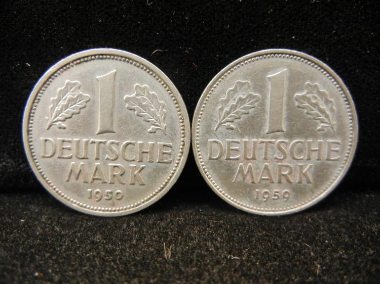 1950 & 1959 One Mark