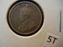 1918 Candain 10 Cent