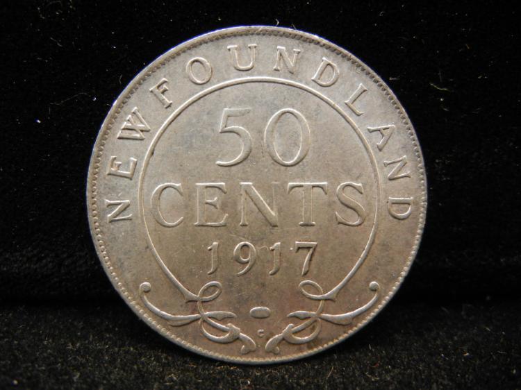 Newfoundland 1917 C 50...