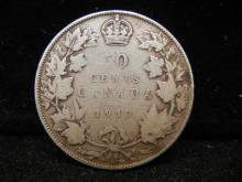 1917 Canadian Half Dollar