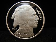 2007 Copy Buffalo Proof Clad