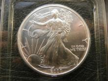 2000 American Silver Eagle .999 Fine Silver One Troy Ounce by Littleton