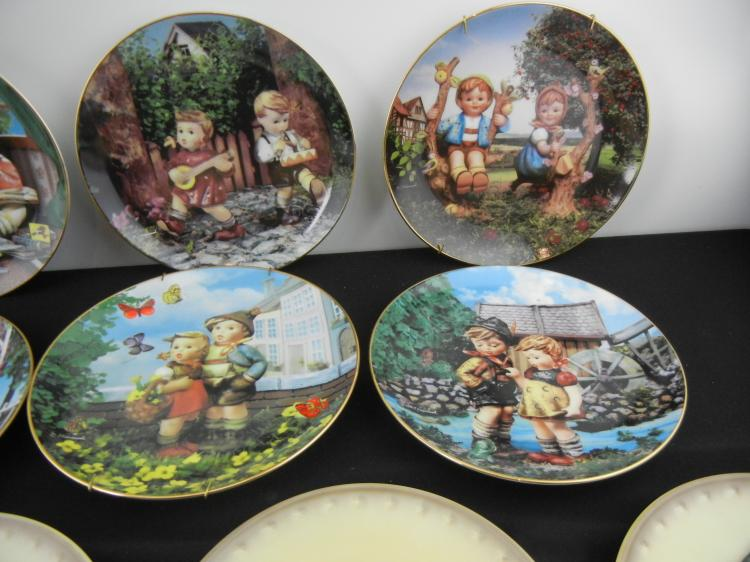Lot of 11 M.J. Hummel Collector Plates