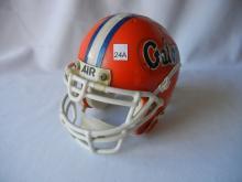 Miniature Gator Air Football Helmet by Schutt
