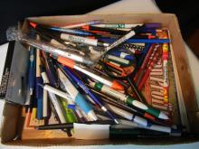 Lot of Pens & Pencils