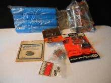 New Bicycle Parts Grips, Peddles, Links, and other Items.