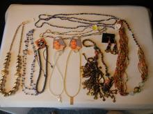 Lot of Costume Jewelry Necklace's