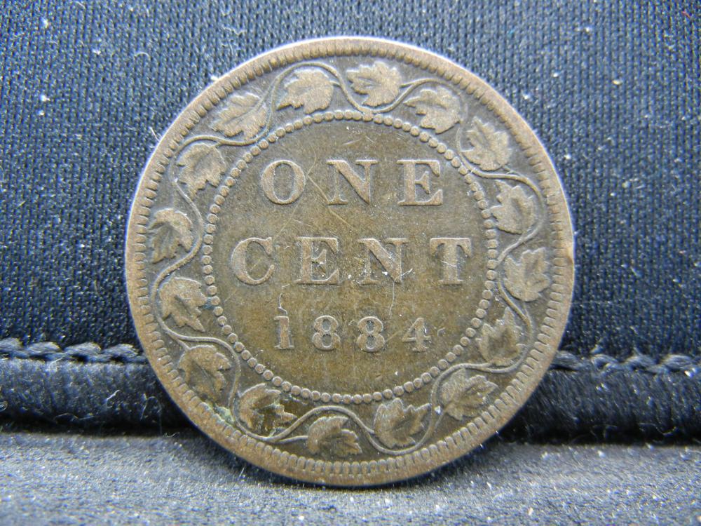 1884 Canada 1 Cent