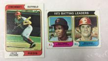 1974 Topps Pete Rose Cards - Varying Conditions