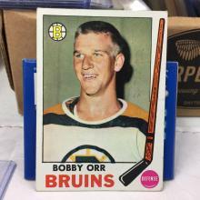 1969-70 Topps Bobby Orr #24 w/Stamp on back