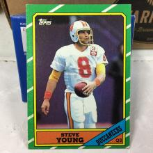 1986 Topps Steve Young Rookie Card #374