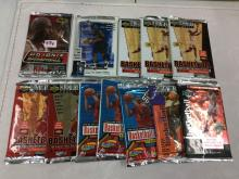 Lot of 12 Unopened Basketball Packs
