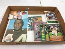 Lot of Misc Assorted Sports - 1968 Topps Posters Leroy Kelly, Jumbo Cards
