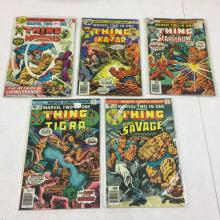 Marvel Two-In-One #15, 16, 18, 19, 21