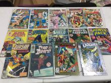 Lot of Assorted Comics - All #1 Issues - Cable, Tarzan, Sleepwalker, The Human Fly, Alpha Flight
