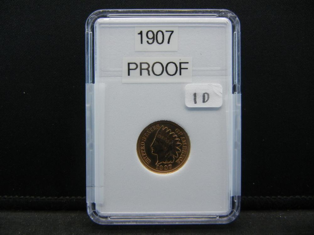 1907 Indian Head, proof Quality