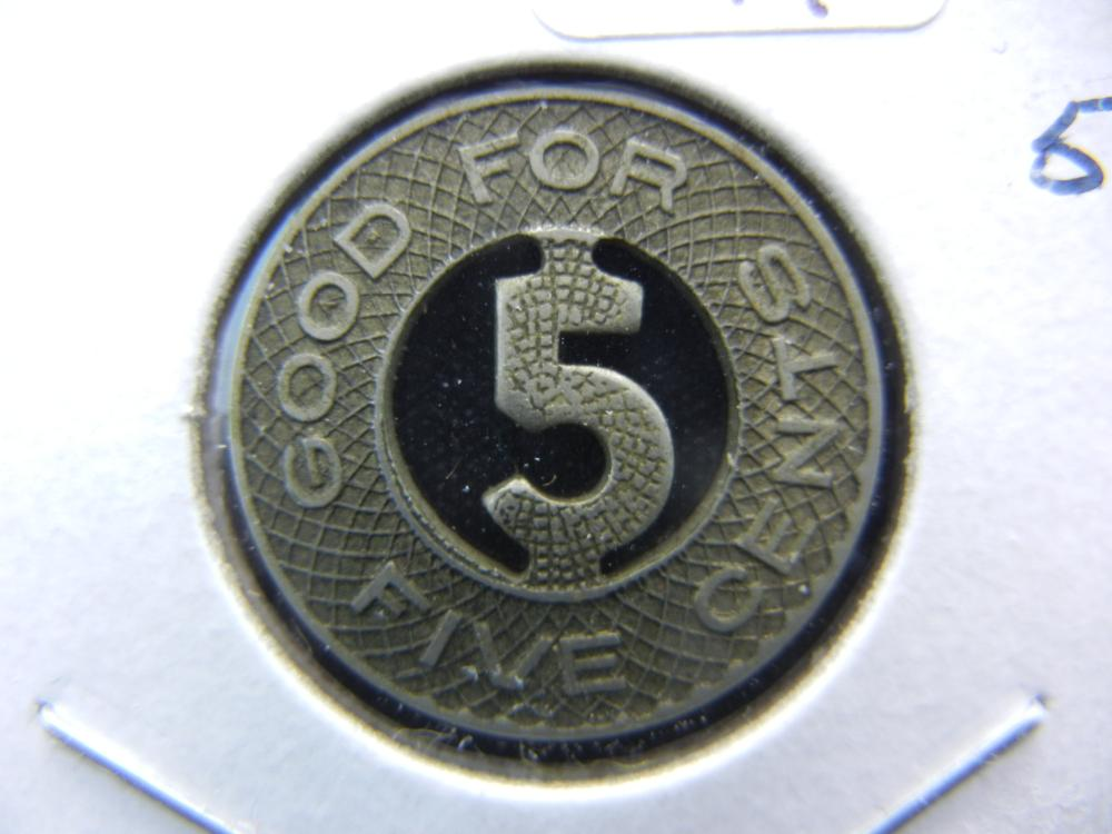 Really Neat Good for 5 Cents token.  Transit Token from the 20s in Shanghai China.